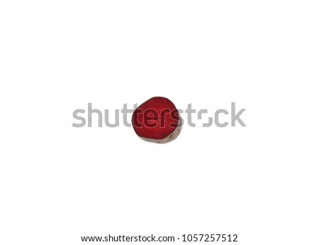 Beetroot beet table beet garden beet red beet half single horizontal