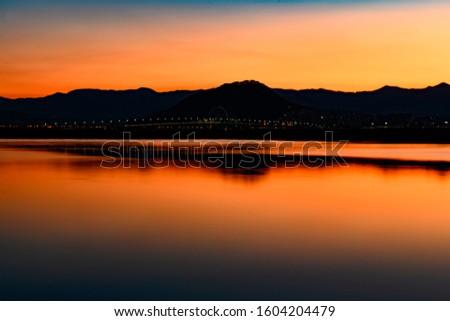 before sunrise sunrise light view lake
