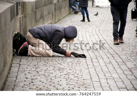 charity begging and old english means Late old english, benevolence for the poor, also christian love in its highest  manifestation, from old french charité (christian) charity, mercy, compassion.