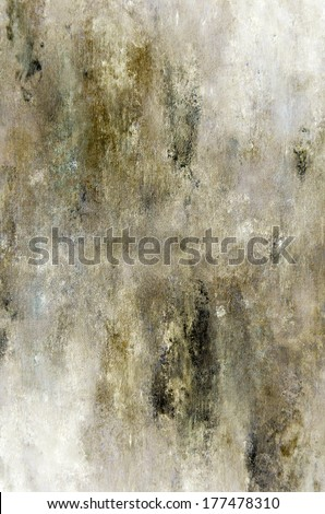 Beige and Brown Abstract Art Painting