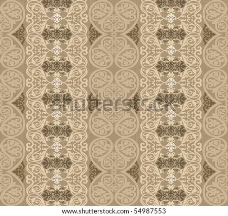 beige arabesque background