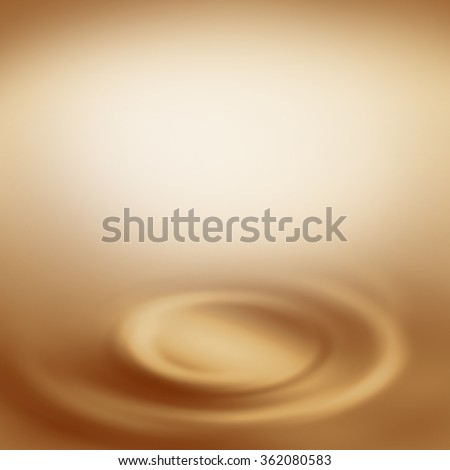 beige background abstract swirl background, creamy background with empty copy space  to white chocolate or milk and coffee advertising design template project