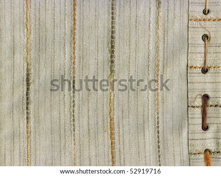 Beige cloth texture close up