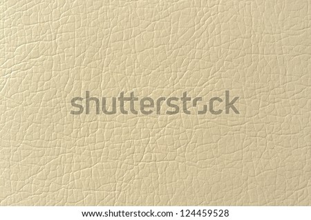 Beige Faux Leather Background Texture