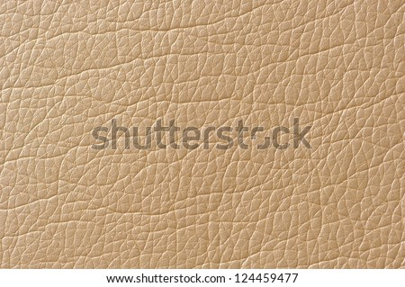 Beige Glossy Artificial Leather Texture