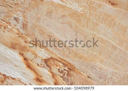 Beige granite with natural pattern.