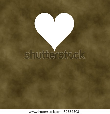 Beige gray marble background with heart #506895031