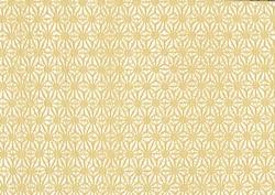 Beige Japanese paper flower design texture background