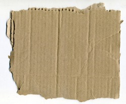 Beige Kraft Paper Texture Cardboard Background, Recycle Cardboard, Old Realistic Sheet of Paper, Abstract Texture Background, Corrugated Cardboard for Packing