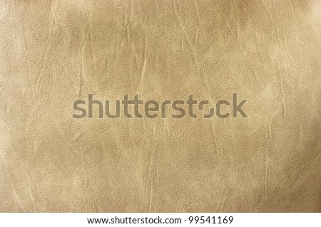 Beige leather for background usage