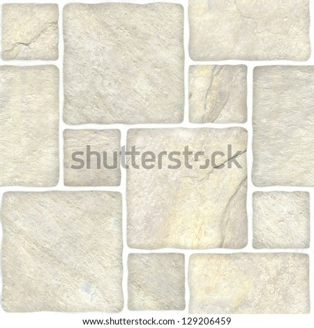 Beige marble-stone mosaic texture. (High.res.)
