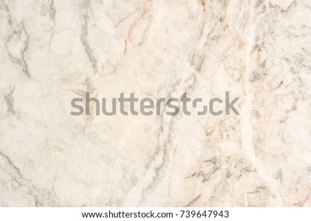 Beige Marble stone natural light for bathroom or kitchen white countertop. High resolution texture and pattern. #739647943