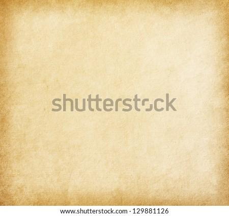 Beige paper  background - Shutterstock ID 129881126