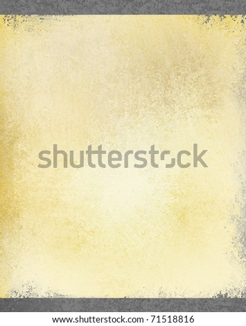 beige parchment  illustration background with old looking grunge worn texture, faded brown tones, and outside dark border