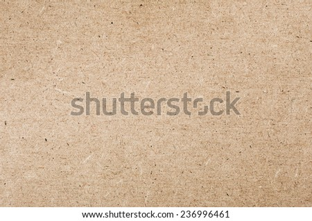 Beige particleboard texture abstract, rough surface background in horizontal orientation, nobody. Foto d'archivio ©