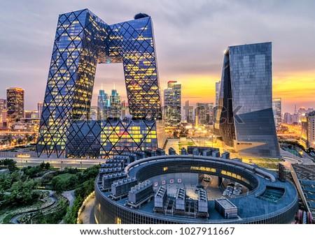 Beijing city landscape