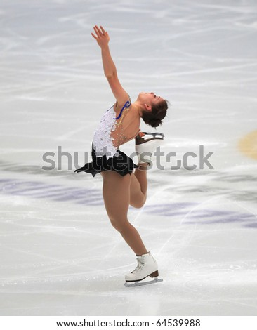 BEIJING - NOV 6 : Diane Szmiett of Canada performs in the Ladies-Free Skating event of the SAMSUNG Cup of China ISU Grand Prix of Figure Skating 2010 on Nov 6, 2010 in Beijing, China.