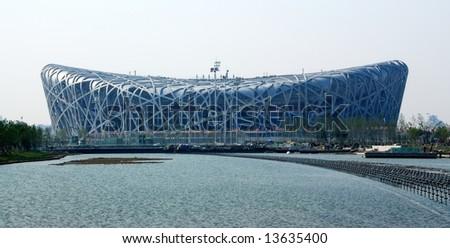 "Beijing 2008 olympic main stadium:""bridnest"""