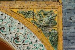 Beiling Park Phoenix relief landscape
