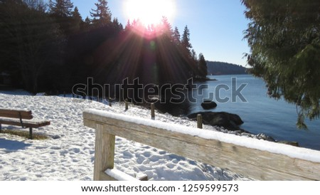 Belcarra regional park near Vancouver British Columbia Canada - 071