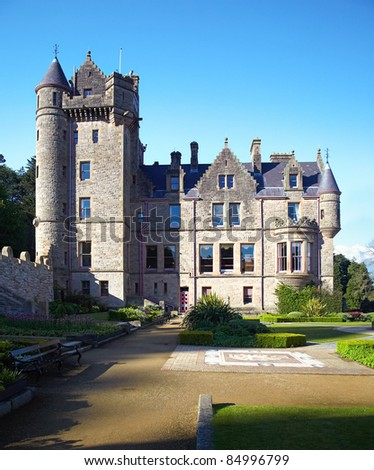 Belfast Castle  in Cavehill Country Park, Northern Ireland