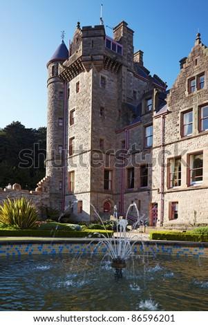 Belfast Castle  in Cavehill Country Park, Northern Ireland