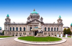 Belfast City Hall and Donegall Square, Northern Ireland, UK
