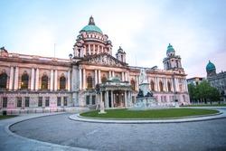 Belfast City Hall in Northern Ireland, United Kingdom