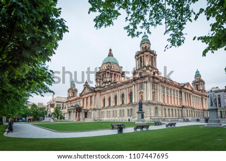 Belfast City Hall in Northern Ireland, United Kingdom