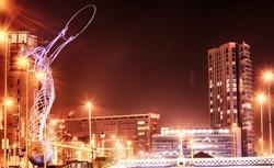 Belfast City Skyline, Northern Ireland, United Kingdom.