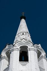 Belfry of Russian orthodox church.