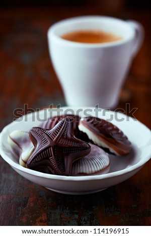 Belgian Chocolates - stock photo