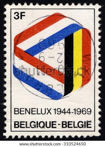 belgium   circa 1980  stamp...