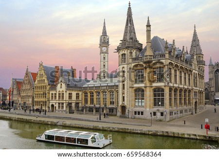 Shutterstock Belgium. Gent.   Ghent is a real gem of Flanders and all of Belgium.