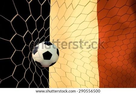 Belgium soccer ball Color Vintage #290556500