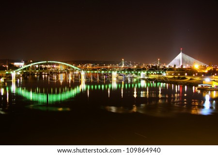Belgrade by night 03