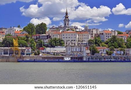 Belgrade, old town