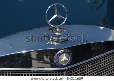 BELGRADE - SEPTEMBER 3: A Mercedes W110 on Oldtimer's Car Show September 3, 2011 in Belgrade, Serbia.
