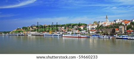 Belgrade, view from river