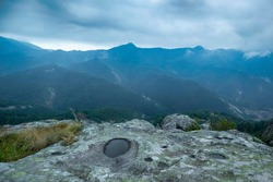 Belintash is a small plateau in the Rhodope Mountains in Bulgaria bearing traces of human activity. It is assumed that this is a cult site of the ancient Thracian.