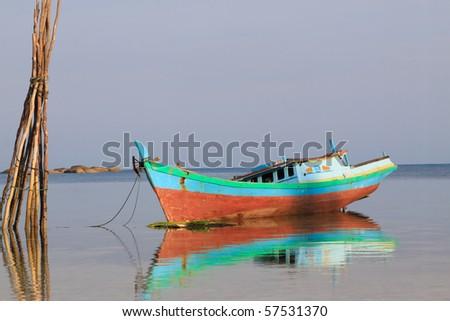 Belitung Island Fishing Boat