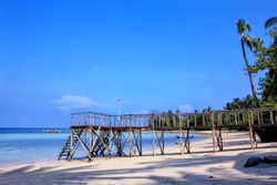 Belitung Island is one of the famous tourist attractions in Indonesia. It has many island and has a very beautiful and different beach.