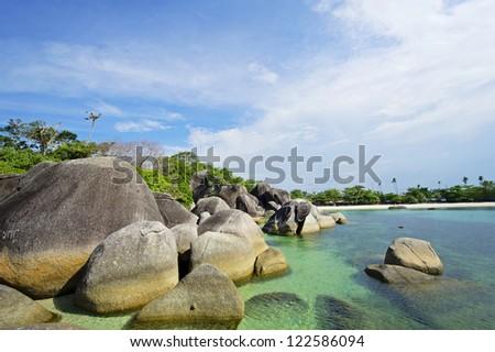 Belitung's beach, Indonesia