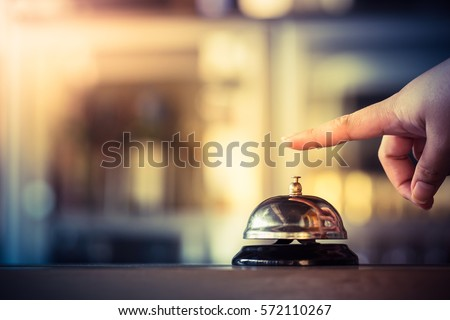 Bell call vintage service with hand #572110267