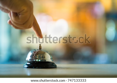 Bell call vintage service with hand #747133333