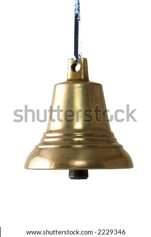bell. Isolated white background