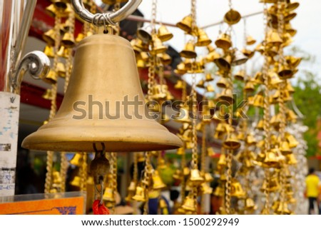 bell,Large bells and small bells intertwined,signal
