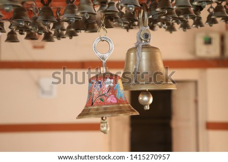Bell of Temple I Ghanta in Temple #1415270957