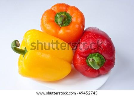 bell pepper. sweet peppers