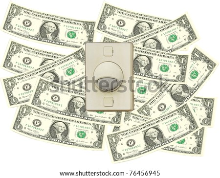 Bell switch over dollar bill